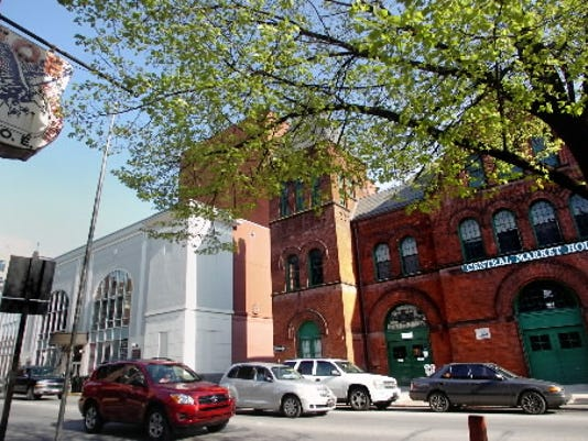 York Daily Record/Sunday News - File; Downtown York is a great place to walk with Central Market, the Strand, art galleries and boutique shops.
