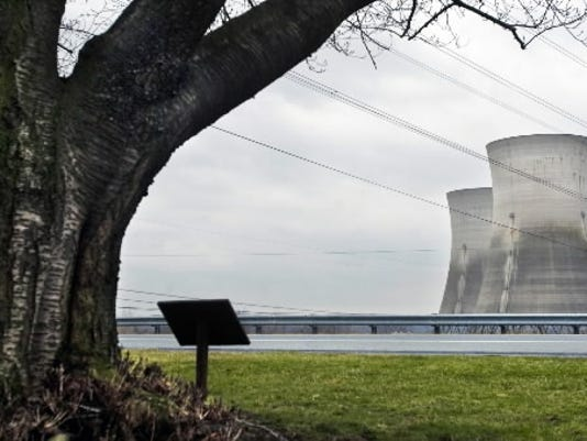 A partial nuclear meltdown occurred at the nuclear power plant on Three Mile Island, pictured here, March 28, 1979. More than 30 years later, York County residents are still concerned about the safety of nuclear power plants in the region.