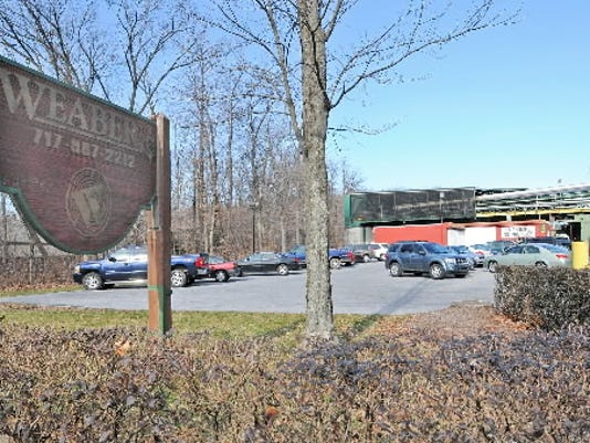 The entrance to Weaber Inc., a lumber-processing and hardwood-products manufacturer, is located along Mt. Wilson Road in South Annville Township.