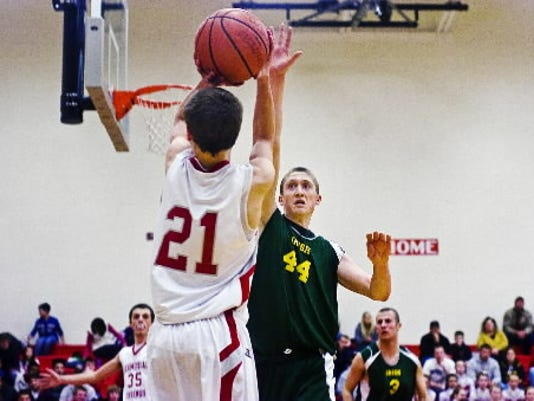 Bermudian Springs beat York Catholic for the first time in 17 years Monday.
