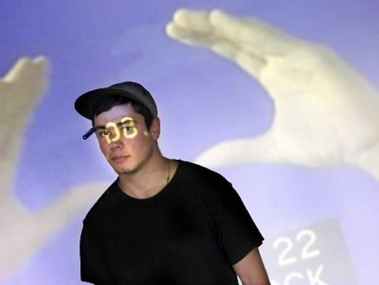 Dallaston native Neal Reinalda in his Baltimore art studio in a 2010 file photo.