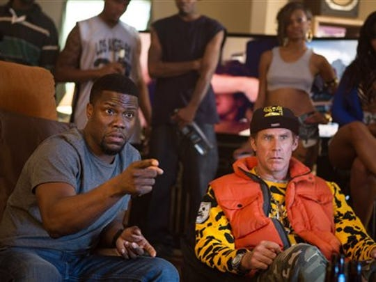 Kevin Hart, left, and Will Ferrell star in Get Hard.
