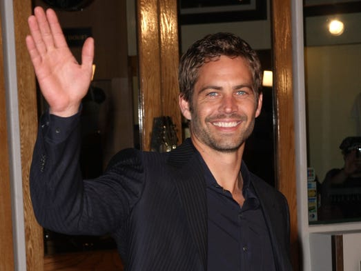 "Paul Walker, star of the ""Fast and Furious"" movie franchise,"