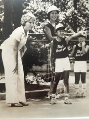 Elizabeth Burnside, Shawn Windsor's mother, in Tokyo in the 1970s. She taught English as a second language there.