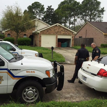 A baby was found dead in a home in north Harris County