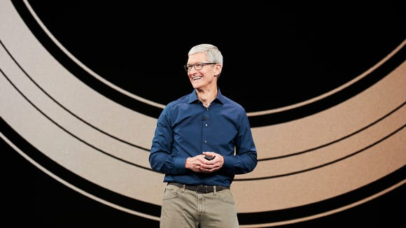 Apple CEO Tim Cook likely will announce a new batch of iPhones, which analysts say will be the iPhone 11, iPhone 11 Pro and iPhone 11 Pro Max.