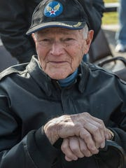 World War II veteran Jack McClellan served in the Army Air Corp, flying in B-29 aircraft in the South Pacific.