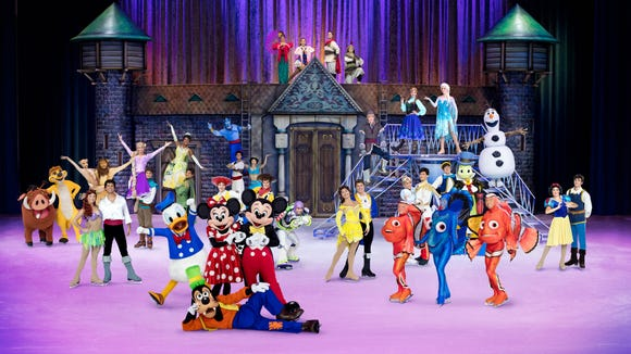 Disney on Ice '100 Years of Magic' comes to the Denny Sanford Premier Center this winter.