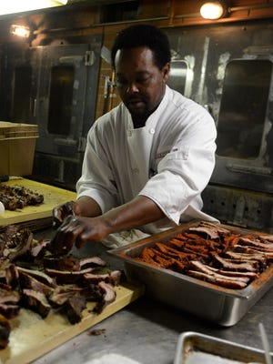 The iconic Memphis BBQ restaurant Charles Vergos' Rendezvous may play host to the princes.