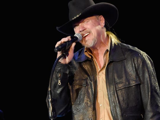 Trace Adkins, shown performing in February, will headline the second annual Rockin' Country Thunder 106 Guys with Guitars Under the Stars concert July 13 on the Seaside Heights beach at Grant Avenue.