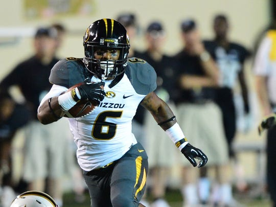 Missouri's Marcus Murphy could be a late-round target of the Green Bay Packers.
