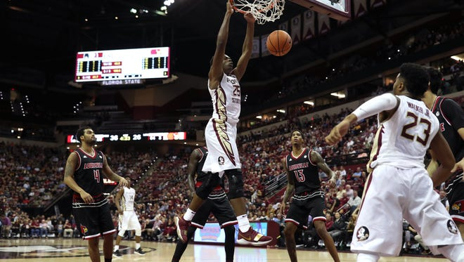 Florida State's Mfiondu Kabengele has emerged as a viable offensive option in his freshman season.