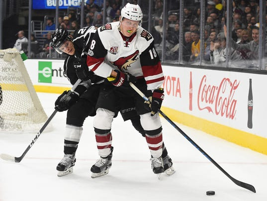 NHL: Arizona Coyotes at Los Angeles Kings
