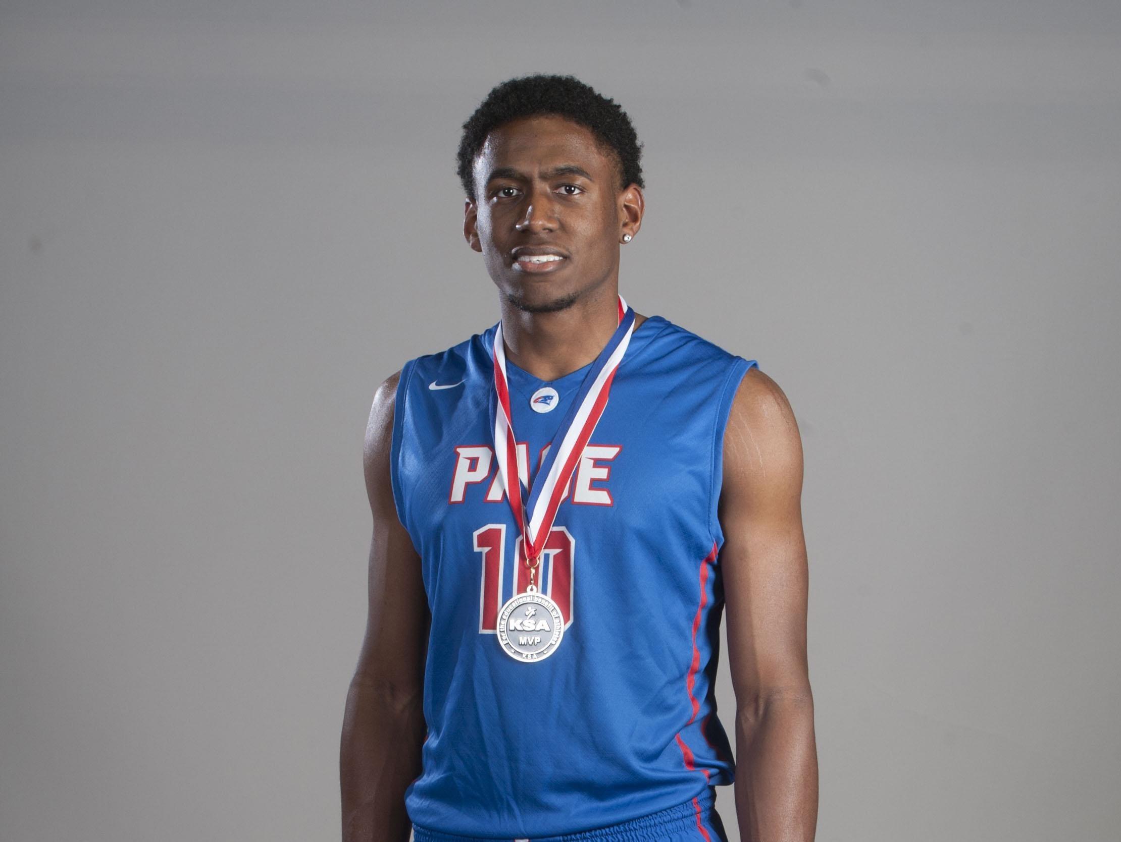 Jahmiah Simmons, Pace basketball