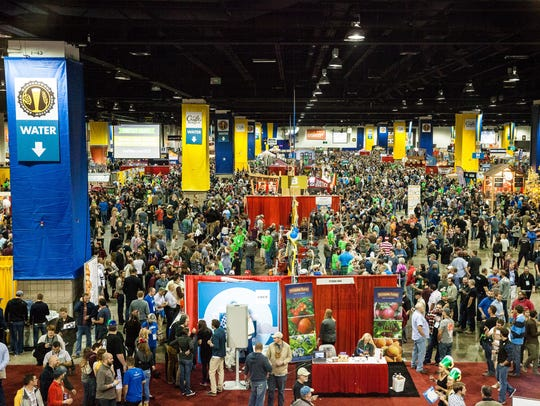 The 2016 Great American Beer Festival drew a record
