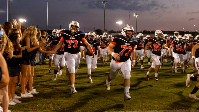 Blackman is looking to bounce back this week after a 31-14 loss at Cookeville during Week 9. The Blaze travel to Stewarts Creek Friday.