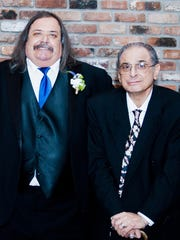 Jim Aloi, left, and his brother Joe Aloi who passed away April 29.