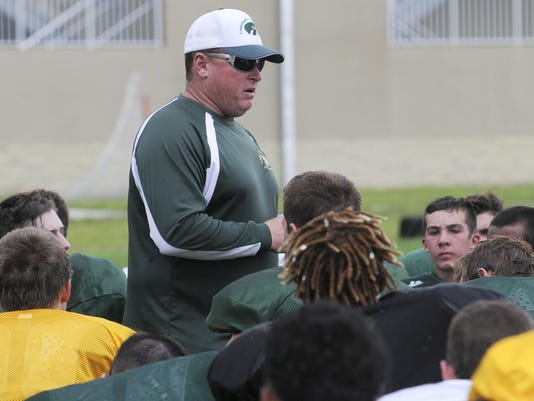 Viera High Football Practice