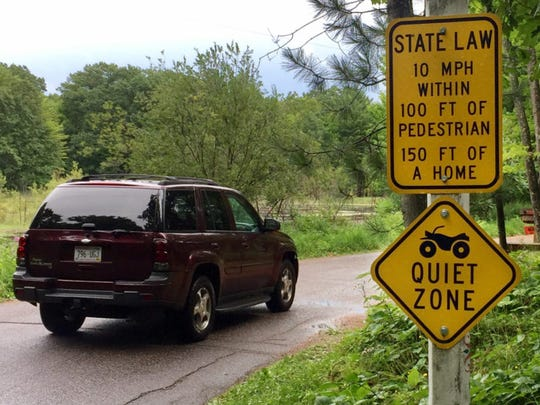 All-terrain vehicle enthusiasts have pushed communities in Wisconsin to allow their use on designated roadways. State law allows children as young as 12 to operate all-terrain vehicles on roadways after receiving safety certification.