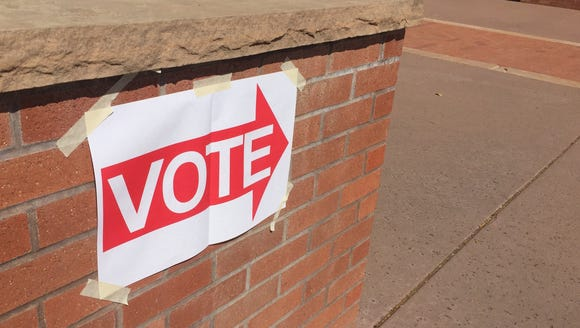 There was no line at the polling place at the Arizona