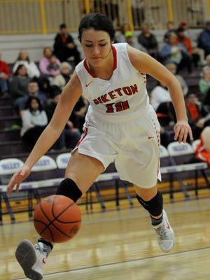 Ally Crothers scored 24 points for Piketon as the Redstreaks defeated Eastern 58-35 to improve to 6-1.