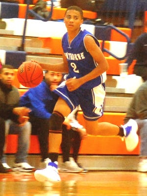 Hawthorne sophomore point guard Timothy Palmer is one of the reasons that the Bears have jumped out to a 10-1 record.