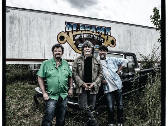 "Alabama's ""Southern Drawl,"" out Sept. 18 on BMG Chrysalis"