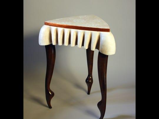 Illinois-based furniture artist Steve Carlson will