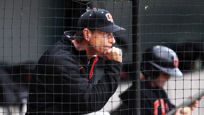 OSU coach Pat Casey has led the Beavers to two national championships and four College World Series appearances.
