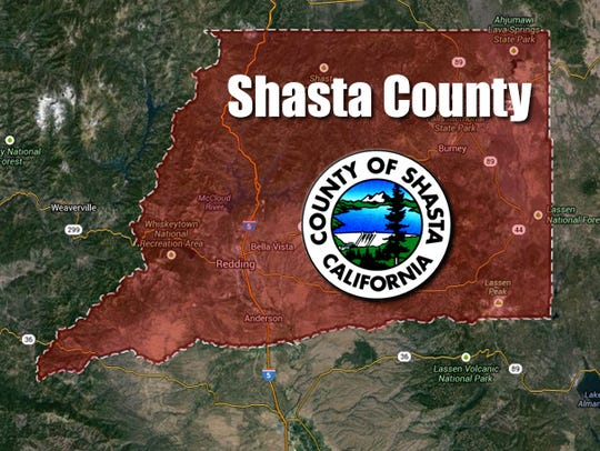 Shasta-County map