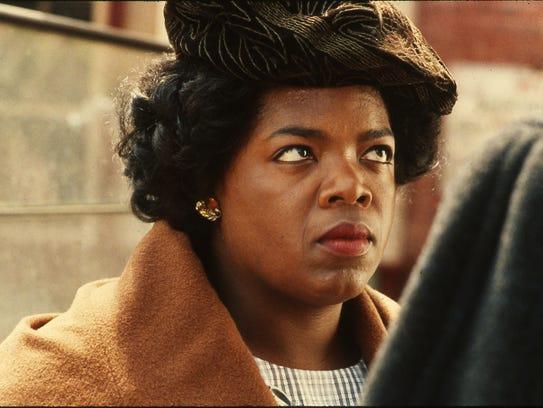 Oprah Winfrey as Sofia in 1985's 'The Color Purple.'