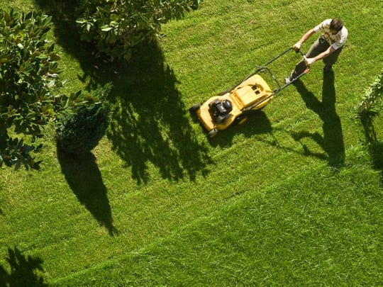 Just because the weather is cooler doesn't mean you should stop cutting your grass.