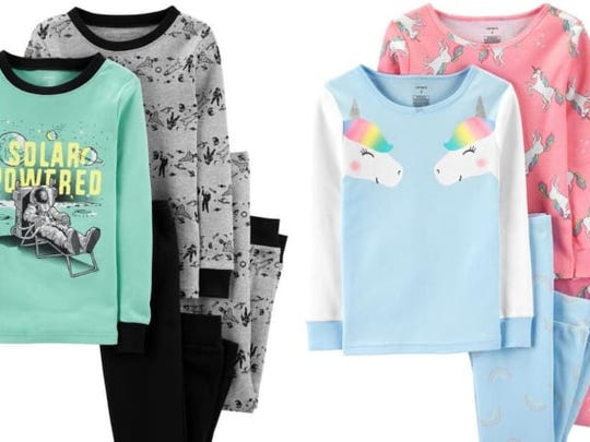 Pajamas come in all kinds of designs and colors, making them great gifts for kids.