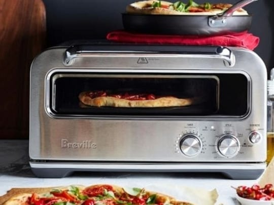 A counter-top pizza oven can take your homemade pizzas to another level.