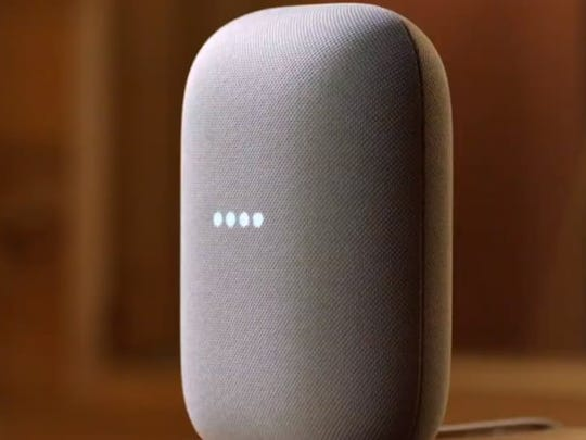 The new Nest Audio smart speaker comes with Google Assistant built-in.
