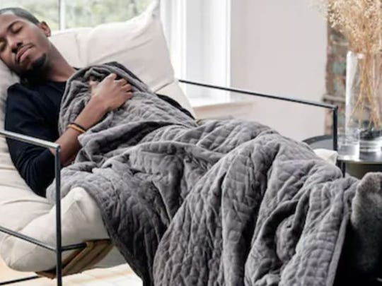 Best Valentine's Day gifts for men: Gravity weighted blanket.