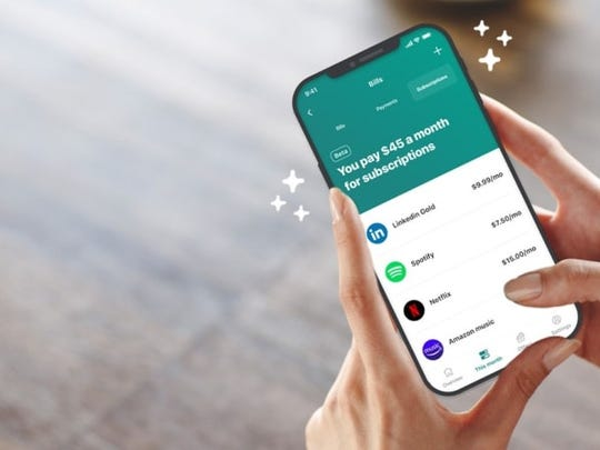The Mint app can help with budgeting and saving money.