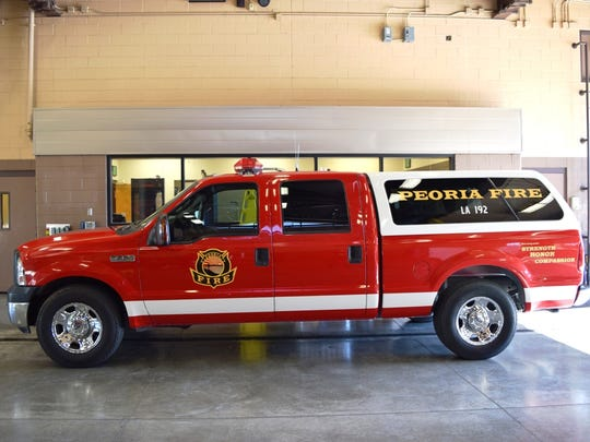 Peoria Fire and Medical is using its newest emergency-response