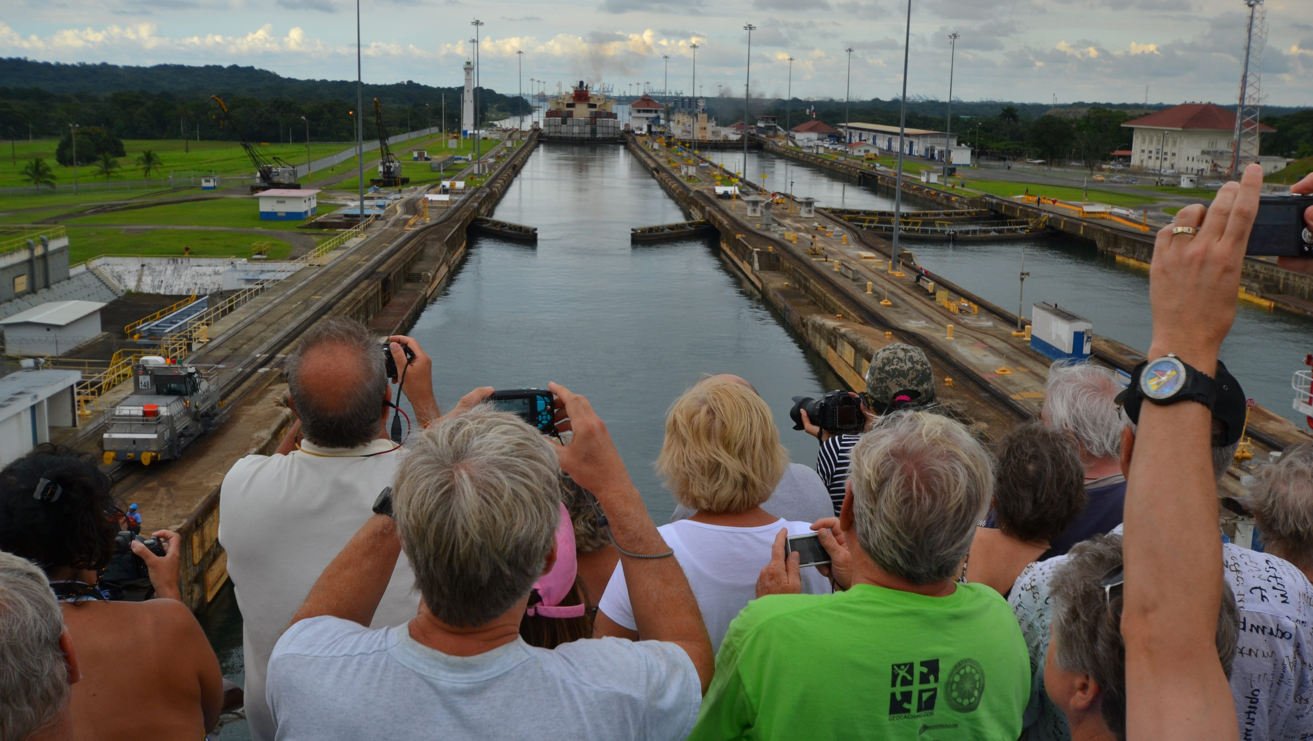 The Panama Canal will float your boat