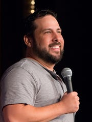Comedian Steve Treviño will make couples laugh, not cry, on Valentine's Day. Check him out at the Comic Strip.