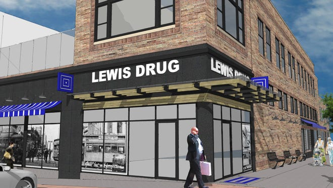 Lewis Drug had planned a store in the former Copper Lounge space prior to the Dec. 2 building collapse.