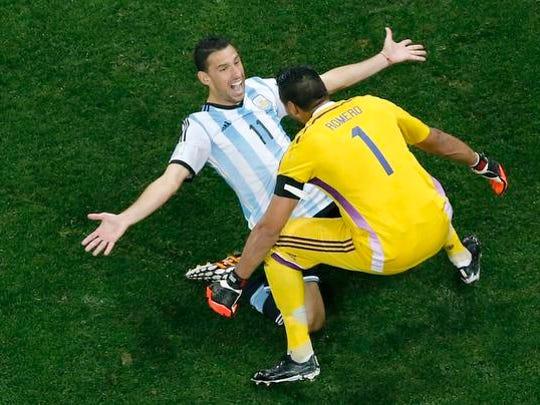 Argentina celebrates.