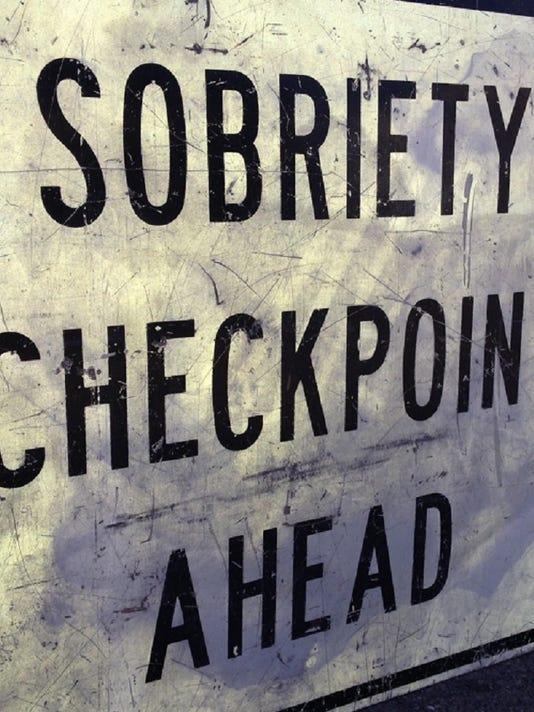 Sobriety checkpoints