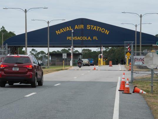 Pensacola NAS Visitors Gate