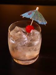 Dai Dai My Darling drink at Juniper Moon, on Ingersoll