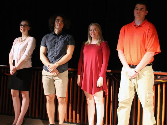 These Plymouth High School students received 2018 Wisconsin