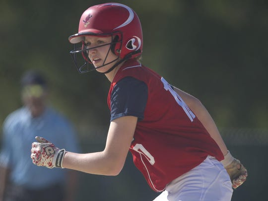 Pacelli's Sami Kay Shafranski is a perfect 23-for-23 in stolen bases this season, leading the team in that category.