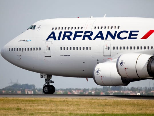 Strike cancels air france detroit paris flights for Flights to paris today