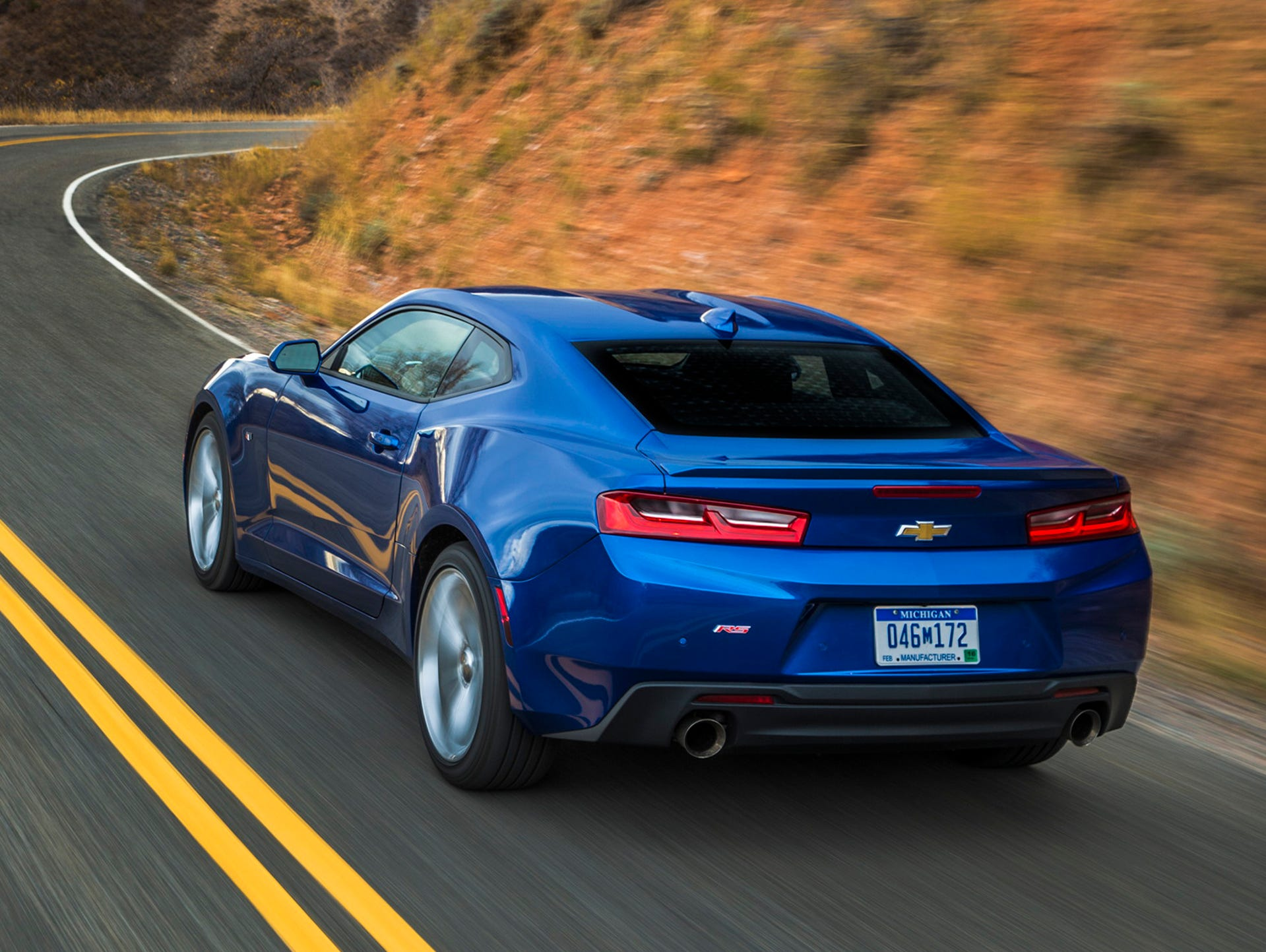 2016: Powered by a Corvette-shared, 455-horse V-8,