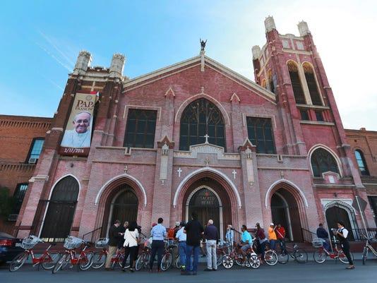 Segundo Barrio Bicycle Tour Sacred Heart Catholic Church